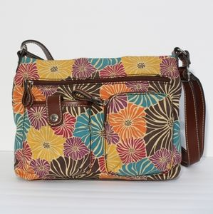 Relic by Fossil Boho Floral Crossbody Purse